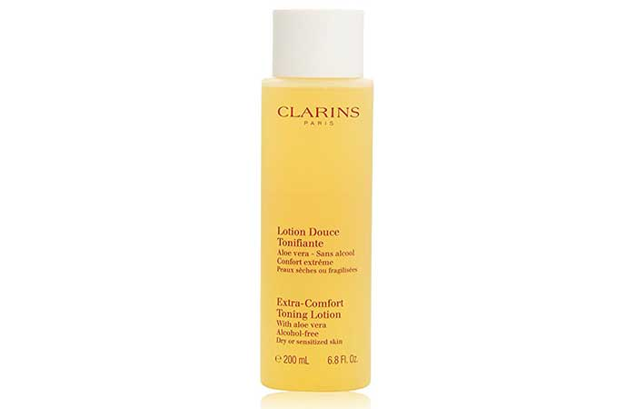 Best Toners For Dry Skin - Clarins Extra Comfort Toning lotion