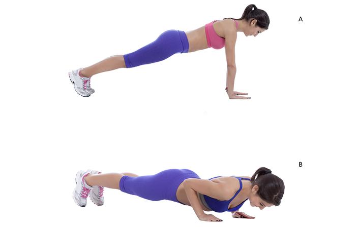 Triceps Exercises - Triceps Push-Ups
