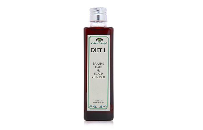 6. Aloe Veda Distil Brahmi Hair And Scalp Vitaliser