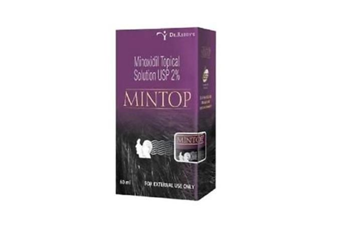 8. Dr. Reddy's Mintop Hair Fall Solution