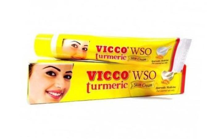 Acne And Pimple Creams - Vicco Turmeric WSO Skin Cream