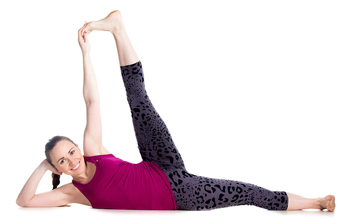Anantasana - Yoga for Weight Loss