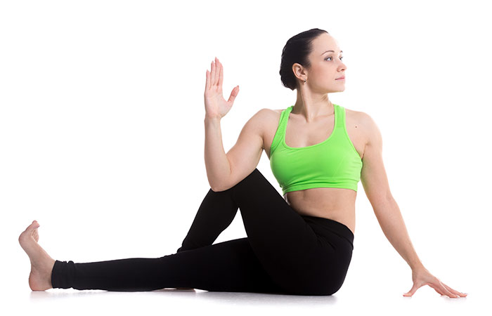 Ardha Matsyendrasana - Yoga for Weight Loss