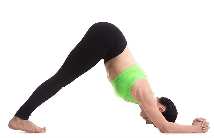 Ardha Pincha Mayurasana - Yoga for Weight Loss