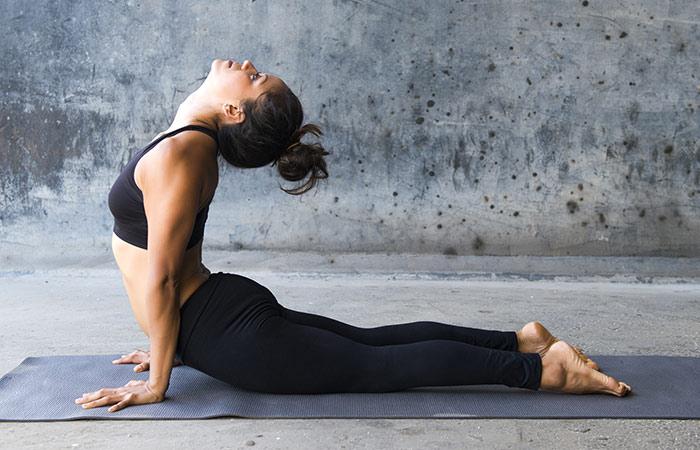 Bhujangasana - Yoga for Weight Loss