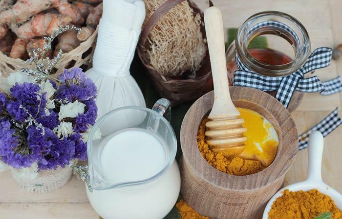 Turmeric for Acne - Milk And Turmeric