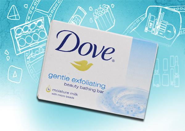 dove gentle exfoliating soap