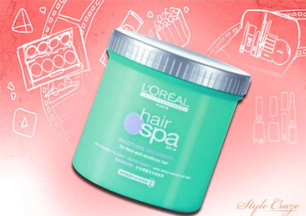 loreal hair spa smoothing creambath