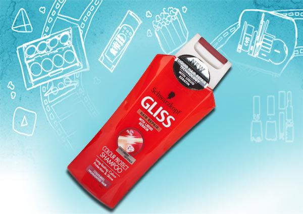 schwarzkopf gliss color shine & protect shampoo