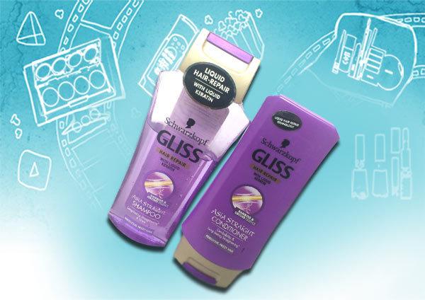 schwarzkopf gliss hair repair shampoo