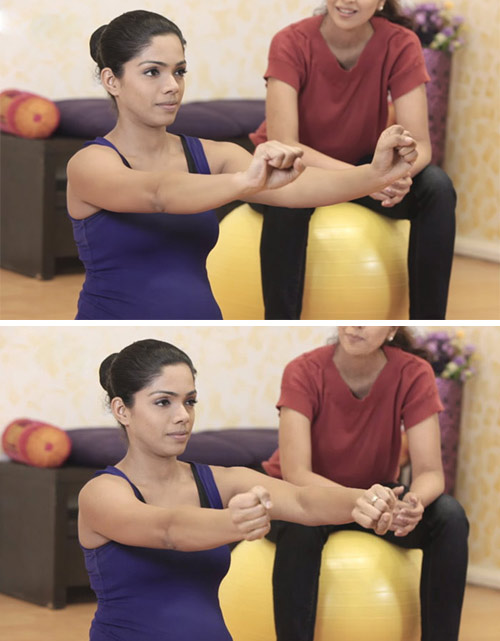 1. Wrist Circles