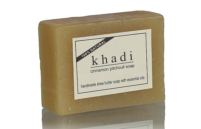 10. Khadi Cinnamon Pitchouli Soap