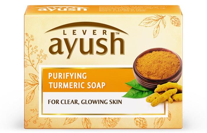4.-Ayush-Purifying-Turmeric-Soap
