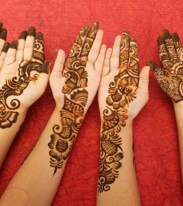 10 Best And Simple Mehandi Designs For Kids : 2018-2019 Special Collection