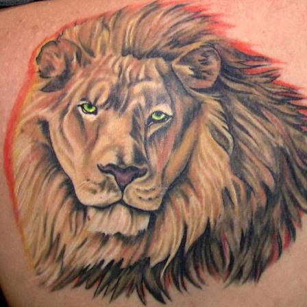 Basic Lion Tattoo