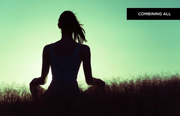 Step 5: Combining All (OM Meditation)