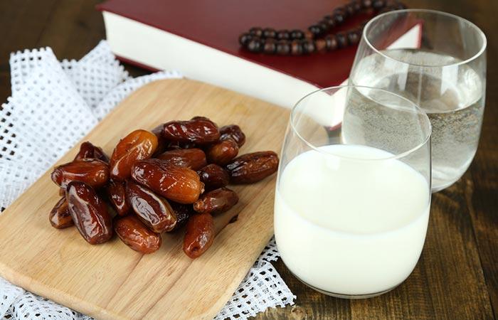 Dates And Milk Diet