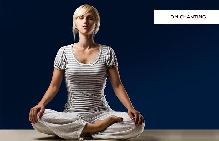 Step 4: Om Chanting (OM Meditation)