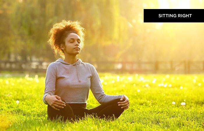 Step 1 - Sitting Right (OM Meditation)