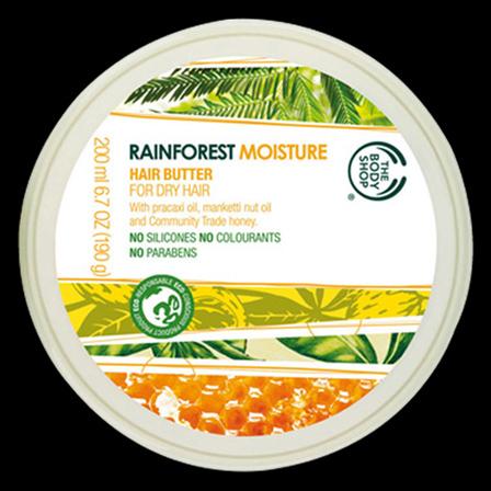 The Body Shop Rain Forest Moisture Hair Butter