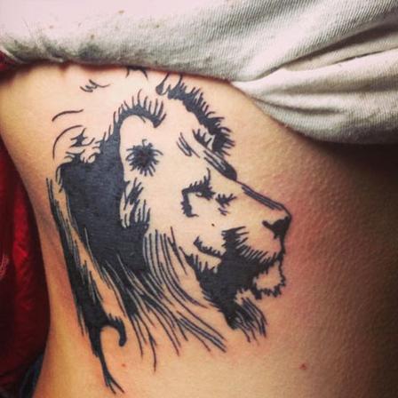 The Pencil Sketch Lion