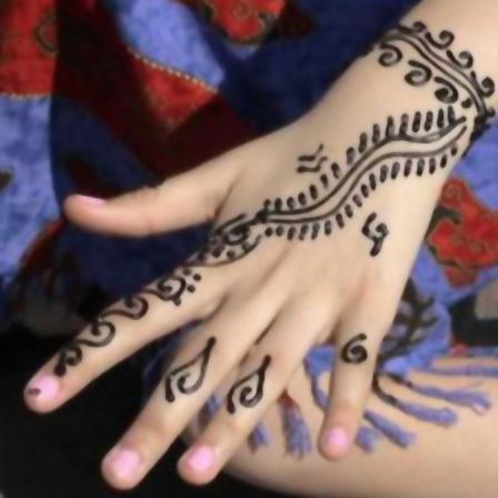 kids mehndi designs hand