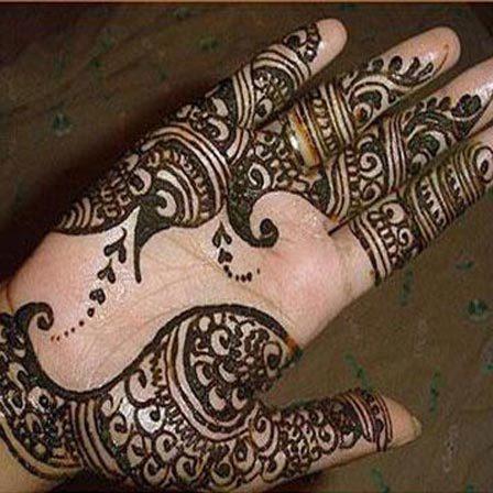 mehndi designs for hands arabic simple