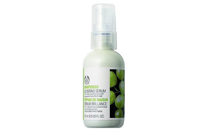 1. The Body Shop Grapeseed Glossing Serum