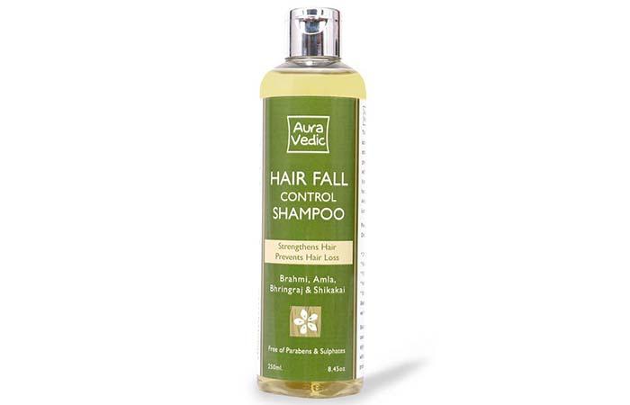 10. AuraVedic Hair Fall Control Shampoo