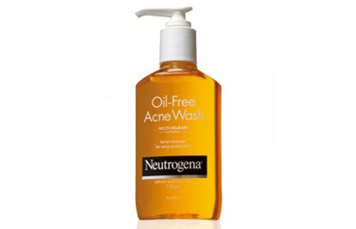 10. Neutrogena Oil-Free Acne Wash