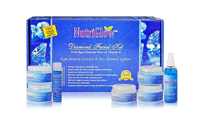12. Nutriglow Facial Kit
