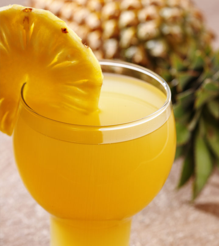 Top 10 Benefits Of Pineapple Juice For Skin, Hair And Health