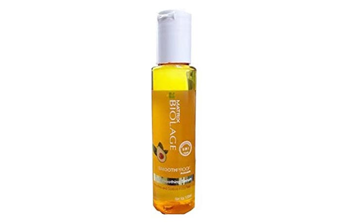 2. Matrix Biolage Smoothing Hair Serum
