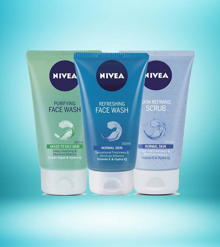 5 Must-Try Nivea Face Washes Available In India – 2018