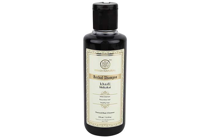 5. Khadi Natural Herbal Shikakai Shampoo
