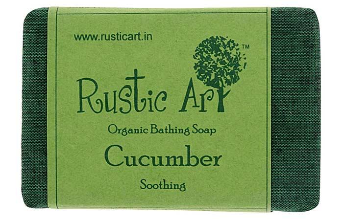 Best Soaps For Sensitive Skin - Rustic Art Organic Cucumber Soap