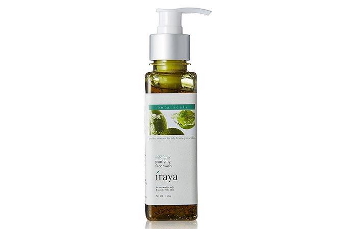 9. Iraya Purifying Face Wash