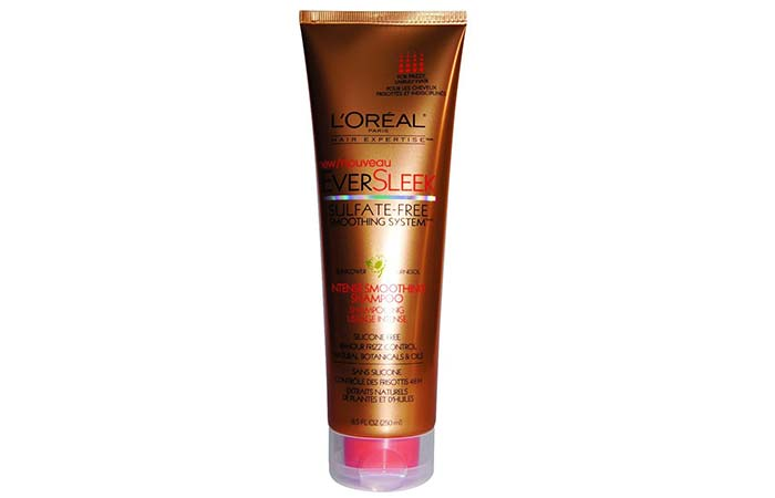 9. L'Oreal EverSleek Sulfate-Free Smoothing System Intense Smooth Shampoo
