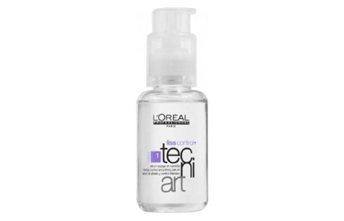9. L'Oreal Professionnel Tecni Art Liss Control Plus Smoothing Serum