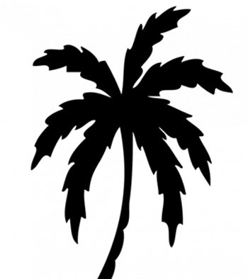 Classic Palm Tree Tattoo