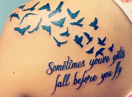 Flight Inspirational Tattoo