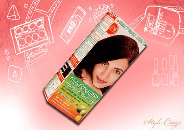 garnier colour naturals nourishing permanent hair colour cream darkest brown 3