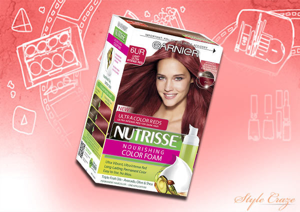 Garnier Nutrisse 5 0 Chocolate Brown Hair Colour X3 Bundle Image