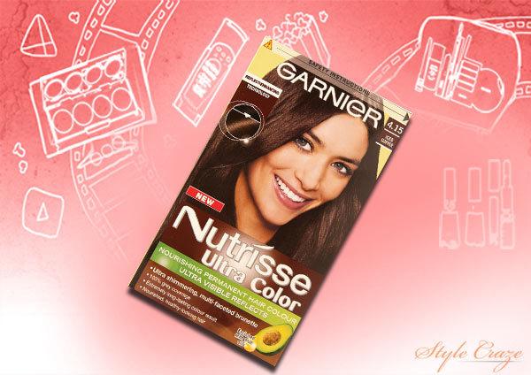 garnier nutrisse ultra colour iced coffee 4.15