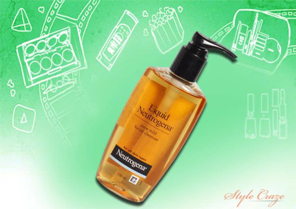 neutrogena liquid pure mild facial cleanser face wash