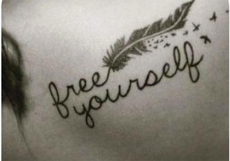 free yourself tattoo
