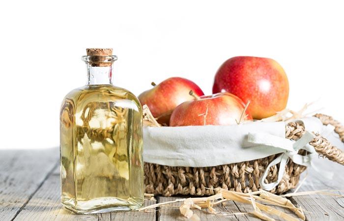 1. Apple Cider Vinegar For Scalp Psoriasis