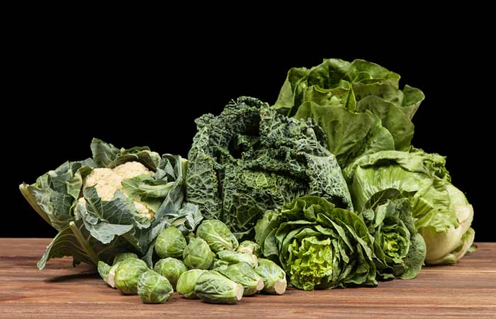 Foods To Prevent Hair Loss - Green Leafy Vegetables