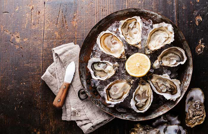 Benefits Of Zinc - Oysters