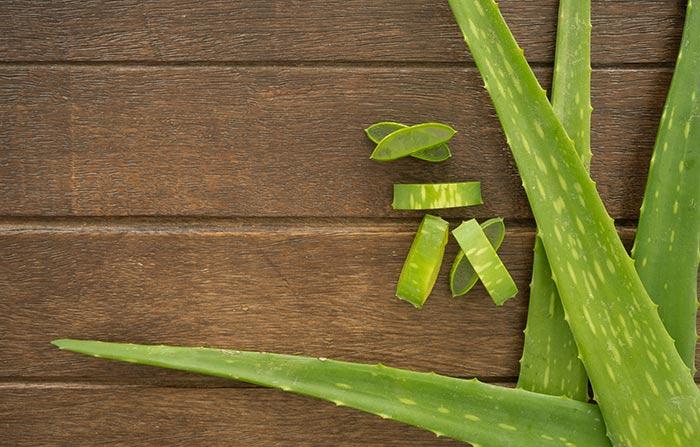 2. Aloe Vera And Henna